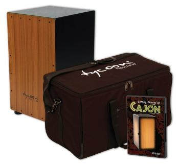 Cajon Starter Pack: Supremo 29 Series Cajon from Tycoon Percussion wit (TY-00147643)