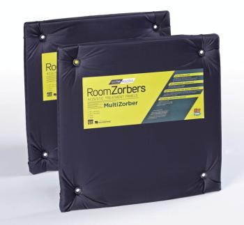 MultiZorber 2424: Pair of Two Black 24 inch. x 24 inch. Panels (GE-00117483)