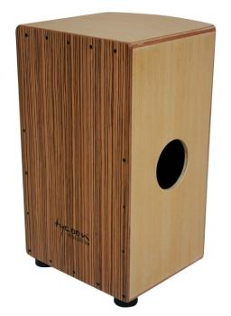 29 Roundback Series American Ash Cajon With Zebrano Front Plate (TY-00755237)
