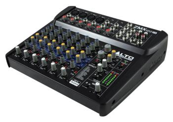 ZMX 122FX: 8-Channel Compact Mixer with Effects (AT-00122063)