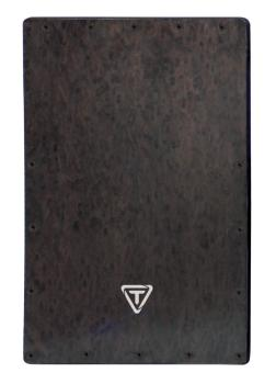 Black Makah Burl Cajon Replacement Front Plate (HL-00755450)
