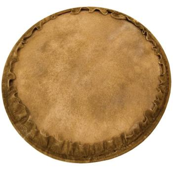 Natural Unbleached Goatskin Djembe Head (13 inch.) (TY-00755717)