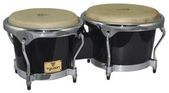 Master Series Black Finish Bongos: 7 inch. & 8-1/2 inch. (HL-00755727)