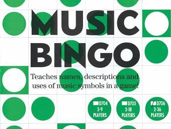 Music Bingo (2-36 Players) (HL-14022304)
