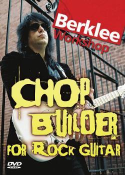 Chop Builder for Rock Guitar: Berklee Workshop Series (HL-50448015)