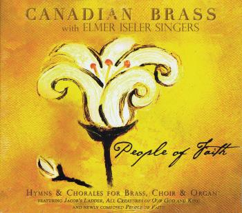 People of Faith: Hymns & Chorales for Brass, Choir & Organ (HL-50489842)