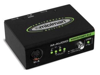 MIDISPORT 2x2 Anniversary Edition: 2-in/2-out USB Bus-Powered MIDI Int (MA-00633082)