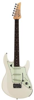 JTV-69S Electric Guitar - Olympic White: James Tyler-Designed Double-C (LI-00123050)