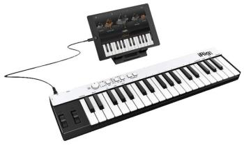 iRig KEYS with Lightning: Mini Keyboard Controller for iPhone, iPod To (IK-00128344)