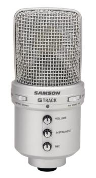 G-Track: USB Condenser Microphone with Audio Interface (SA-00140009)