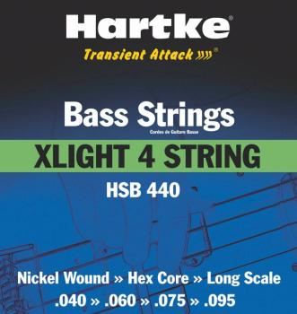 Hartke Transient Attack Bass Strings (XLight 4 String) (HR-00140186)