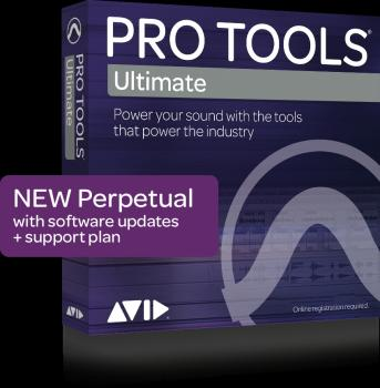 Pro Tools|HD: Perpetual License for Software Only Edition includes iLo (HL-00211526)