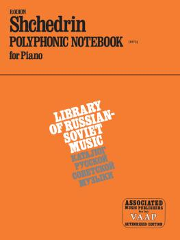 Polyphonic Notebook (1972) (Piano Solo) (HL-50008740)