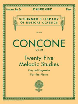 25 Melodic Studies, Op. 24 (Piano Solo) (HL-50252980)