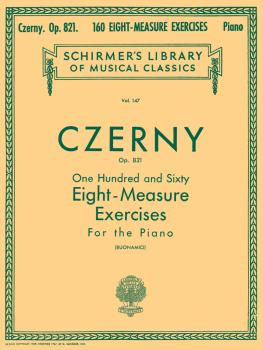 160 Eight-Measure Exercises, Op. 821 (Piano Technique) (HL-50253060)