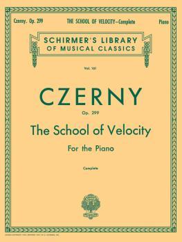 School of Velocity, Op. 299 (Complete) (Piano Technique) (HL-50253140)