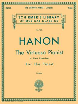 Hanon - Virtuoso Pianist in 60 Exercises - Complete: Schirmer's Librar (HL-50256970)
