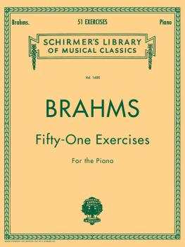 Brahms - 51 Exercises (Piano Solo) (HL-50260430)