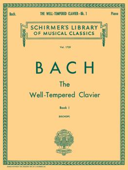 Well Tempered Clavier - Book 1 (Piano Solo) (HL-50261490)