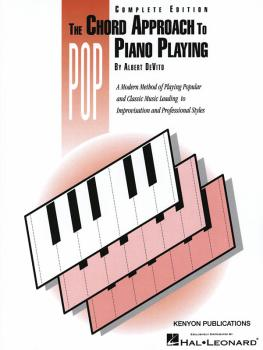 Chord Approach to Pop Piano Playing (Complete) (Piano Technique) (HL-50482138)
