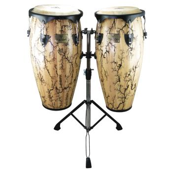 10 inch. & 11 inch. Supremo Select Series Congas - Willow Finish with  (HL-00266869)