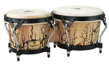 7 inch. & 8.5 inch. Bongos with Willow Finish: Supremo Select Series (HL-00266870)