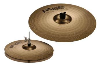 201 Bronze Essential Set (14/18): 14 inch. Hi-Hats & 18 inch. Crash/Ri (HL-03710063)