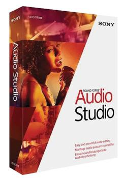 Sound Forge Audio Studio 10: Audio Editing and Production Software Aca (HL-00130881)