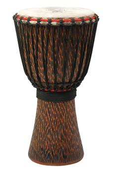 12 inch. Supremo Select Chiseled Orange Series (Rope-Tuned Djembe) (HL-00266967)