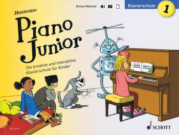 Piano Junior: Klavierschule 1: Die kreative Klavierschule für Kinder G (HL-49046032)