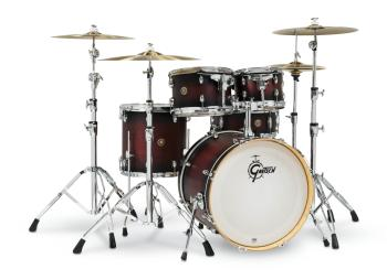 Gretsch Catalina Maple 5 Piece Shell Pack (20/10/12/14/14SN): Satin De (HL-00776711)