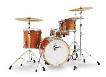 Gretsch Catalina Club 4 Piece Shell Pack (18/12/14/14SN) (Bronze Spark (HL-00285268)