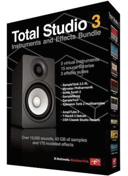 Total Studio 3: Instruments and Effects Bundle (IK-00113434)