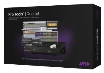 Pro Tools Quartet: Software Interface Bundle with 1-Year Subscription (AV-00150163)