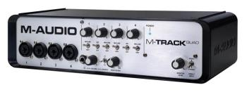 M-Track Quad: 4x4 Audio and MIDI Interface with Pro Tools Express (MA-00118894)