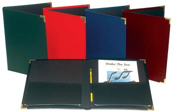 Choral Rehearsal Folder: 9 x 12 with Gusset Pockets - Green (HL-00119374)