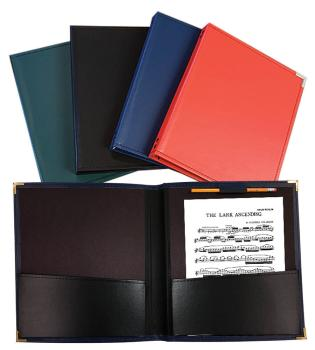 Band and Orchestra Folder: Red Rehearsal Folder, 12 x 14 (HL-00119380)