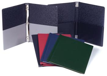 Choral Folder: 9-1/4 x 12; Elastic Stays; Blue (HL-00119384)