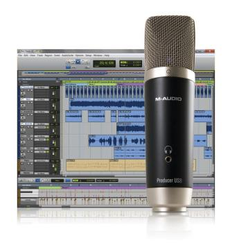 M-Audio Vocal Studio: Easily Record Vocals Like a Pro (MA-00633211)