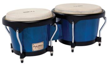 Artist Series Blue Finish Bongos: 7 inch. & 8-1/2 inch. (TY-00755116)