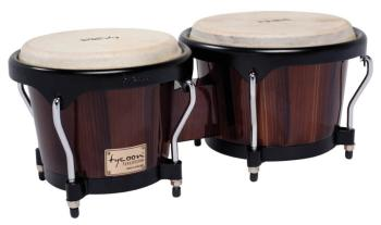 Artist Series Hand-Painted Brown Finish Bongos: 7 inch. & 8-1/2 inch. (TY-00755119)