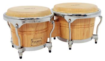Concerto Series Natural Finish Bongos: 7 inch. & 8-1/2 inch. (TY-00755122)