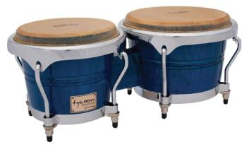 Concerto Series Blue Finish Bongos: 7 inch. & 8-1/2 inch. (TY-00755124)