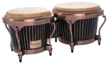 Master Hand-Crafted Pinstripe Series Bongos: 7 inch. & 8-1/2 inch. (TY-00755139)