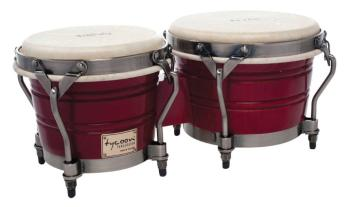 Signature Classic Series Red Bongos: 7 inch. & 8-1/2 inch. (TY-00755142)