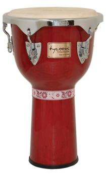 Concerto Series Red Finish Djembe (12 inch.) (TY-00755158)