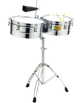 14 inch. & 15 inch. Chrome Shell Timbales (TY-00755201)