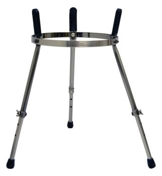 Master Series Single Conga Stand: Brushed Chrome Finish (TY-00755343)