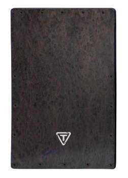 Black Makah Burl Cajon Replacement Front Plate (HL-00755463)
