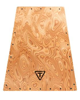 Vertex Series Cajon Makah Burl Replacement Front Plate (HL-00755470)